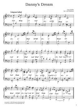 Pianoballader jazz och folkton
