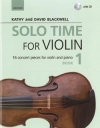 Solo Time For Violin Book 1