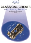 Classical Greats Easy Playalong Clarinet