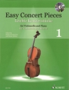 Easy Concert Pieces 1 For Cello And Piano