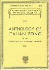 Anthology Of Italian Song Book 1