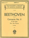 Beethoven Concerto No II in Bb Major Piano